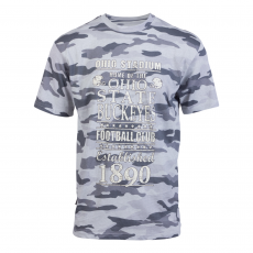 Loaded Mens - Ohio State herre t-shirt +Size - Grå