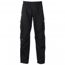 Loaded Mens - Joss herre trekking zip-off bukser - Sort