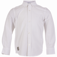 N.O.H.R. - Santos drenge Oxford skjorte - Hvid