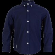 N.O.H.R. - Santos Oxford drenge skjorte - Navy