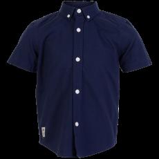 N.O.H.R. - Santos drenge Oxford skjorte - Navy