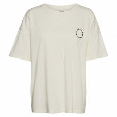 Noisy May - OversizedT-shirt - Off white