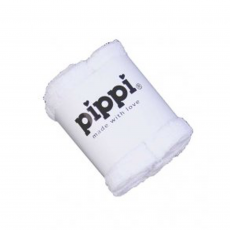 Pippi - Vaskeklud ensfarvet (4-pak) - Hvid