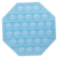 Pop It - Stressaflastendelegetøj - Lyseblå