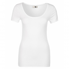 Steenholt Female - Harmony dame t-shirt stretch - Hvid
