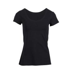 Steenholt Female - Harmony dame t-shirt stretch - Sort