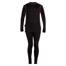 Steenholt outerwear - Skiundertøj voksen - Sort