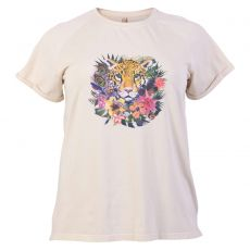 Cassiopeia - +Size dame T-shirt - Sand