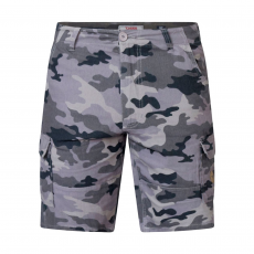 Duke clothing - +Size herre shorts - Grå