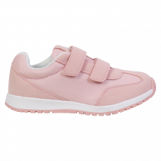 Walkway - Yoko børne sneakers m. velcro - Rosa