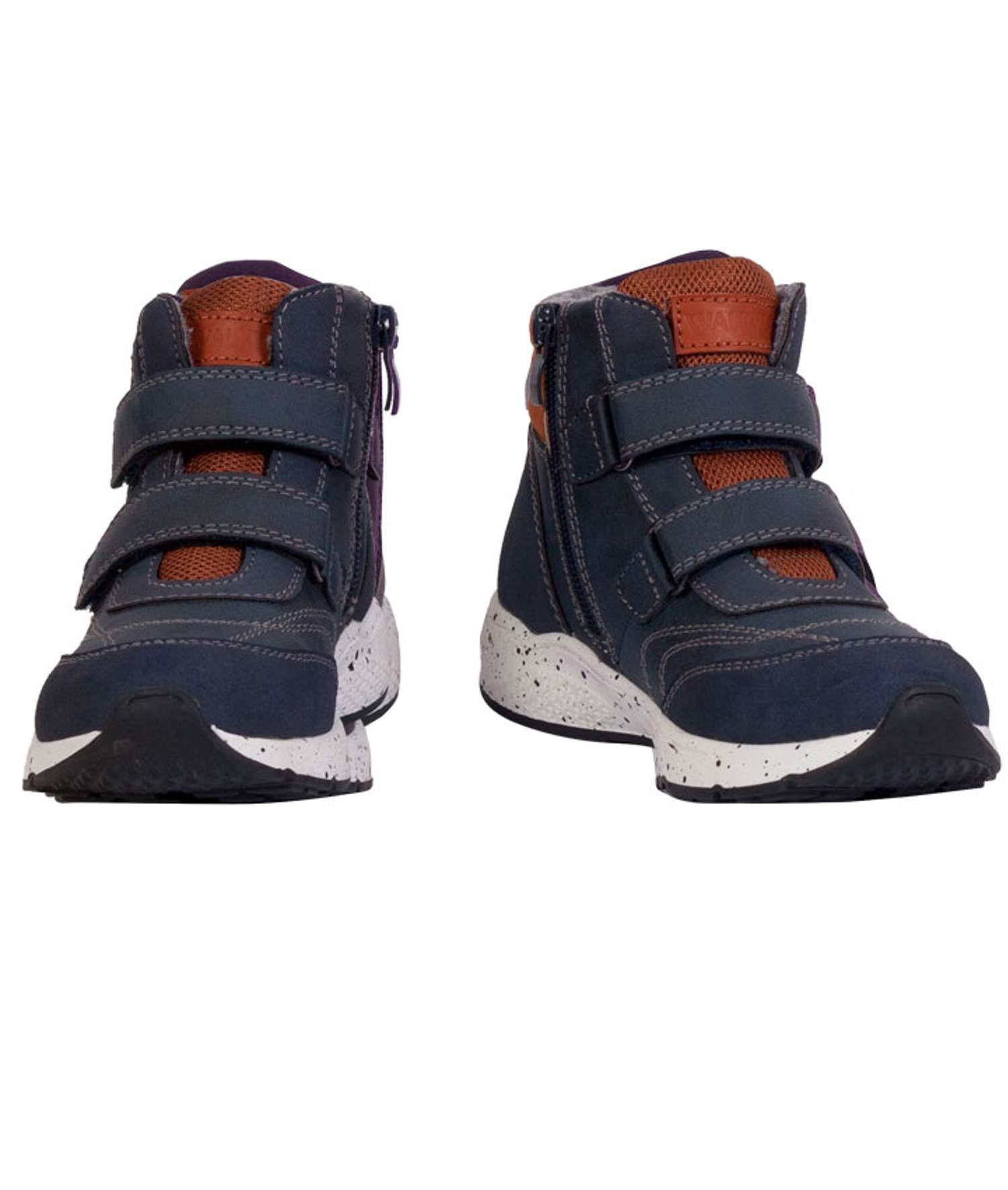 Walkway - Akako børne vinter sneakers - Mørkeblå - Størrelse 26