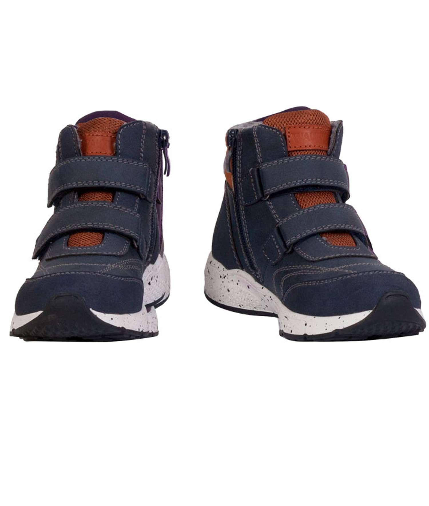 Walkway - Akako børne vinter sneakers - Mørkeblå - Størrelse 28