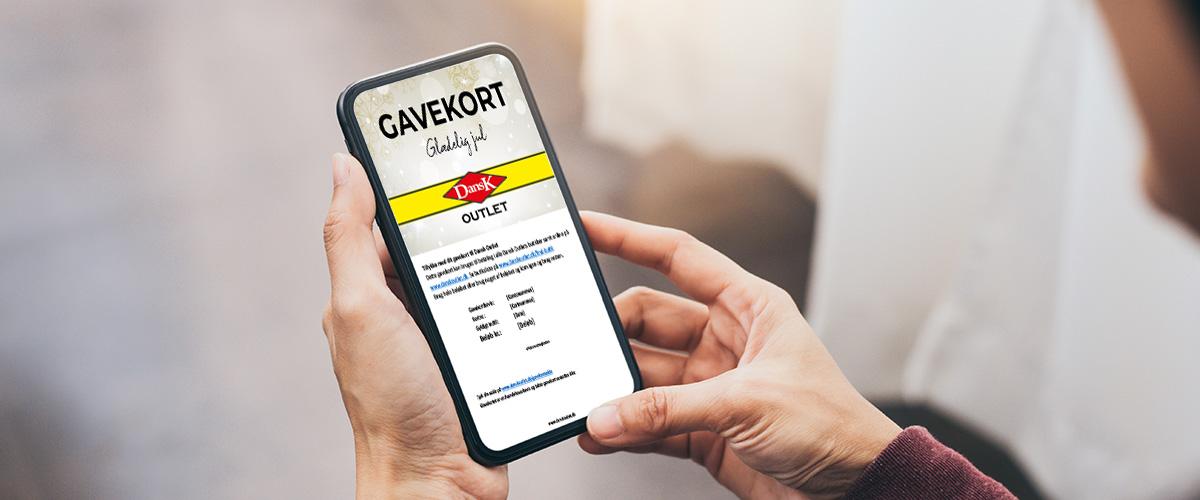 Dansk Outlet Gavekort